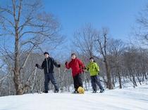 【その他:雪上車体験】冬季限定!雪上車とスノーシュー体験プラン(要予約)