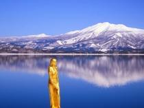 【周辺観光】冬の田沢湖