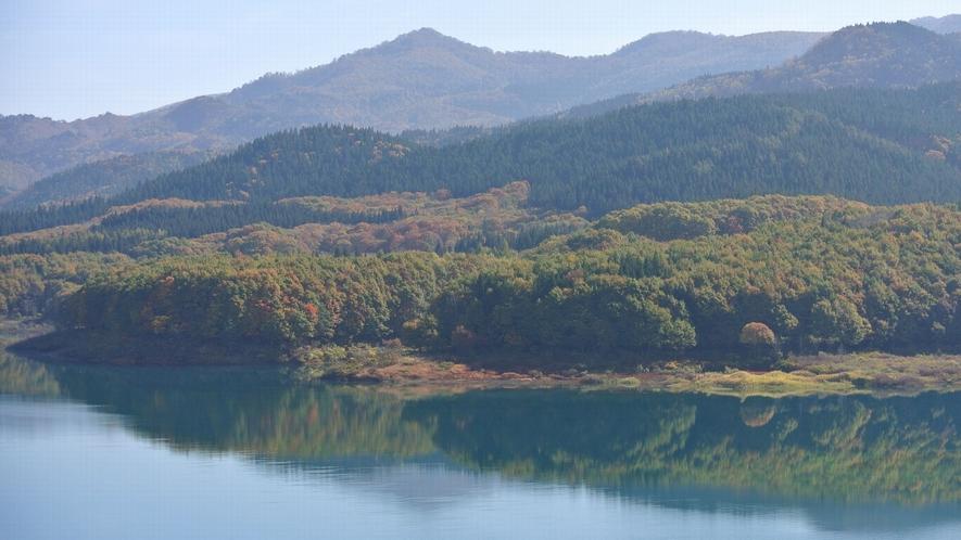 【宝仙湖(玉川ダム湖)】