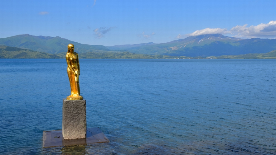 【田沢湖:夏】日本一の深さを誇る湖