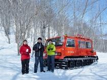 【その他:雪上車体験】冬季限定!雪上車体験プラン♪