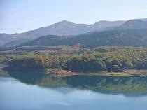 【周辺観光】宝仙湖(玉川ダム湖)