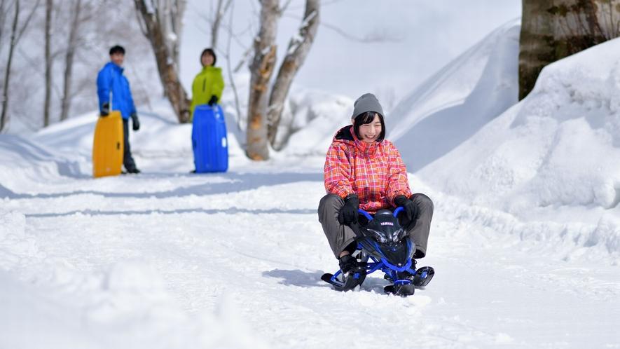 【雪遊び体験】