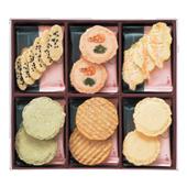 香川のお土産[志満秀のえびせんべい]。フロントにて販売しております。