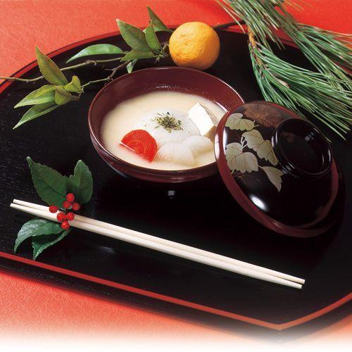 香川のお正月はなんといっても【あん餅雑煮】