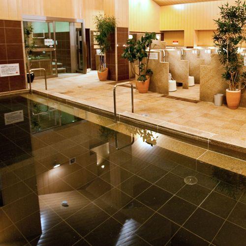 別館 温浴施設 【癒しの里 さらい】日本初!香川県原産のサヌカイト石を贅沢に使用した大内湯