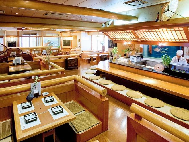 【海鮮茶屋 磯の匠】 お刺身はもちろん、旬の海鮮にぎりなど色々なシーンでお楽しみいただけます。