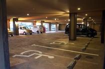 屋内駐車場