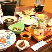■夕食内容一例■ボリューム満点です♪