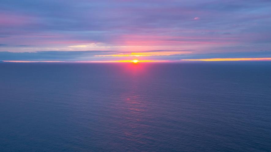 どこまでも続く日本海を眺めながら…☆