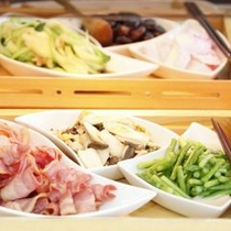 【朝食】真心のこもった手作りならではのお料理※料理一例