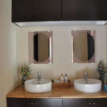 【特別室】最上階和洋室103号室には、洗面も3つご用意!大人数でも大丈夫!