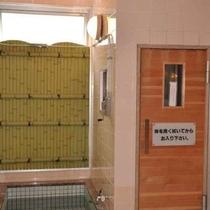 大浴場にはサウナもございます。(写真は女性風呂)