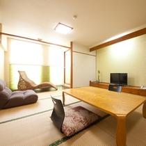 【リニューアル和室】和室8畳〜12畳の内風呂付き