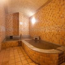 和みの湯には2つの浴槽がある