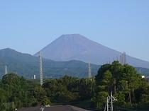 初秋の富士山