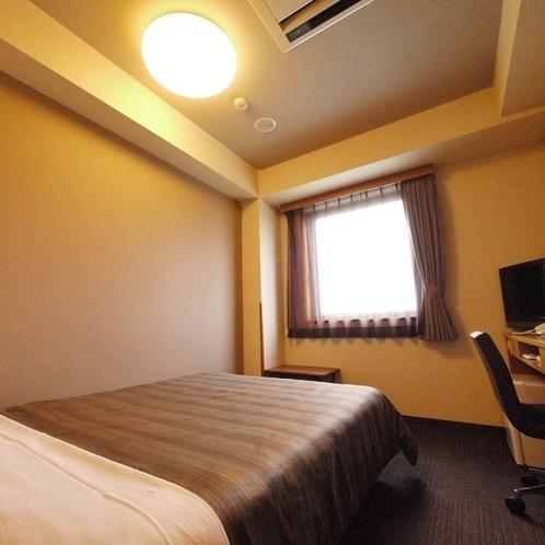 【セミダブルルーム】全室Wi-Fi・加湿空気清浄機完備