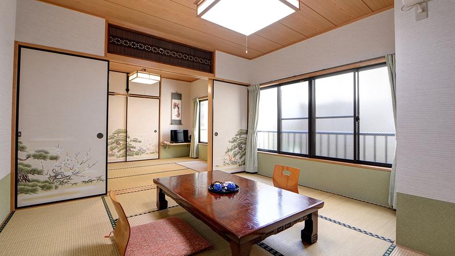 *和室14畳一例/窓の外には小さな中庭の眺めもお楽しみいただけます