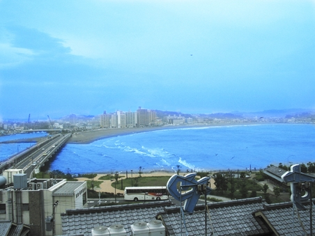 【禁煙】■最上階海側和室■湘南海岸一望
