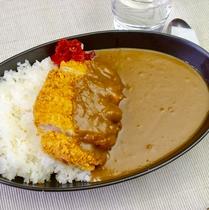 【レストラン】越後もち豚カツカレー