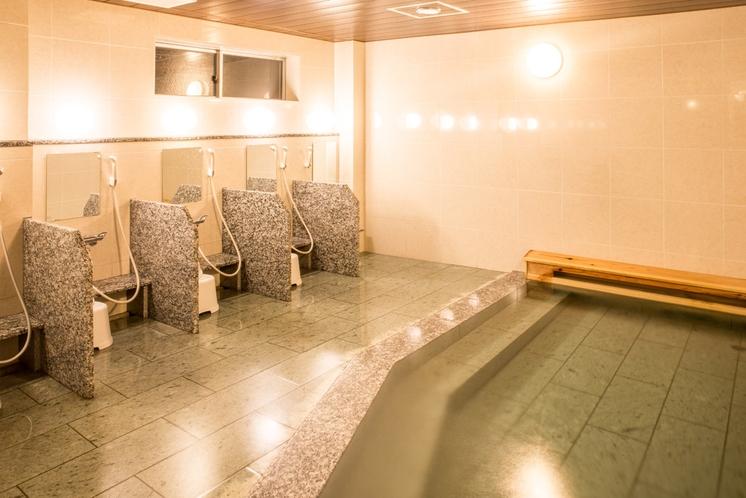 ★浴室2(24時間利用可能)※チェックアウト後も無料