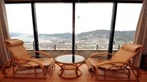 ◆広縁と籐椅子(一部客室を除く)