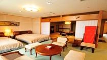 ◆和洋室(12.5畳+ツインベッド)