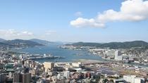 ◆紅葉亭から一望できる長崎の景色(昼)