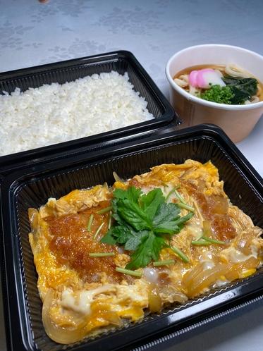 カツ煮(夕食弁当)