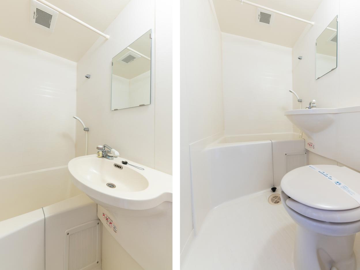 ツインデラックスルーム バスルーム
