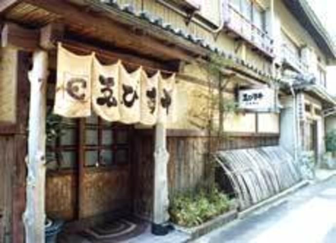 旅館建物写真