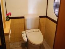 手すり付き洋風シャワートイレ