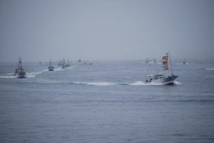 漁船パレード2