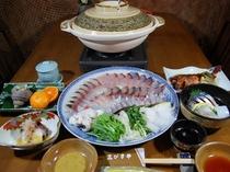 佐田岬海鮮シャブシャブコース