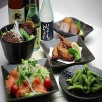 ◆夕食 メニュー一例◆