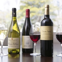 【夕食 洋風懐石】おすすめワインをどうぞ