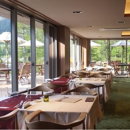 2018リニューアル レストラン「ラ・ベルフォーレ」