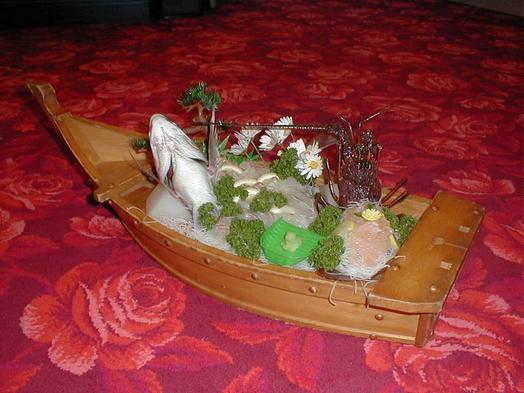 名物伊勢海老の舟盛りプラン