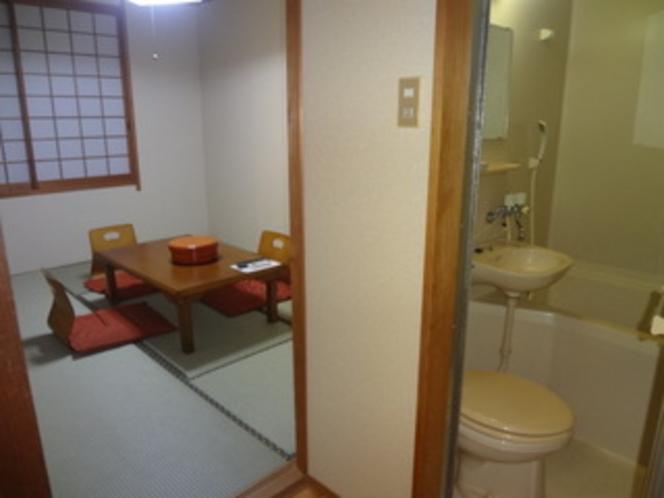 バストイレ付のお部屋