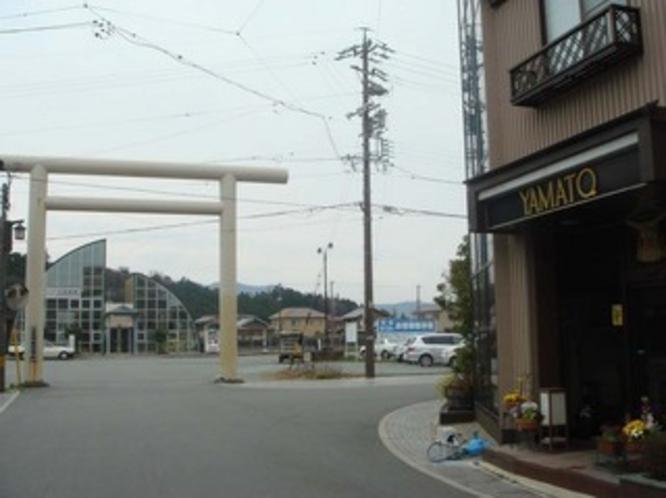 JR二見浦駅のすぐ側です