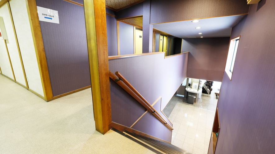 本館2階フロー