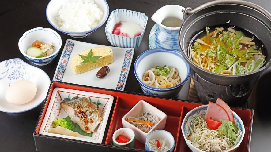 女将おすすめ【カジュアル会席までのプランの朝食