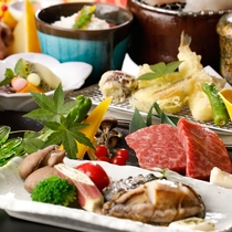 つるや人気1番メニュー♪山海の代表逸品「蝦夷アワビ」&「神戸牛