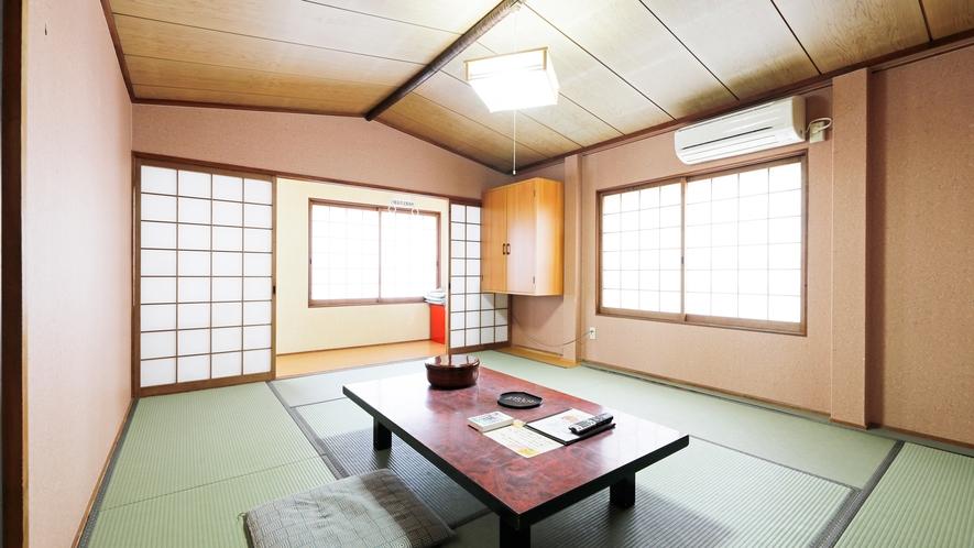 【本館4F】<お部屋へは階段利用>和室10畳~14畳【禁煙】