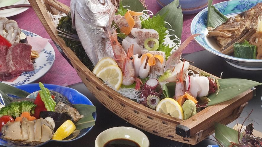 料理長厳選グルメプラン~プレミアム会席~メニュー(漁師会席)
