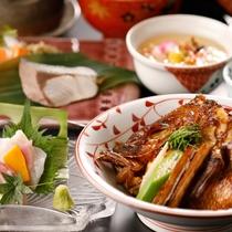 鯛のあら炊き&郷土料理「浜ちゃん鍋