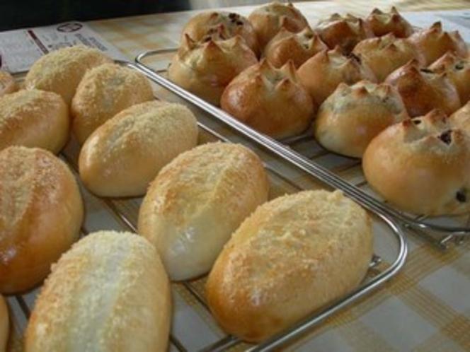 自慢の手作りパン