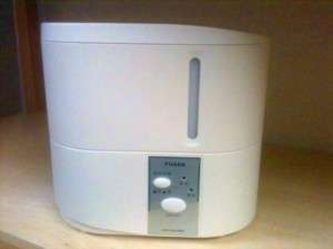 【無料貸出備品】加湿器