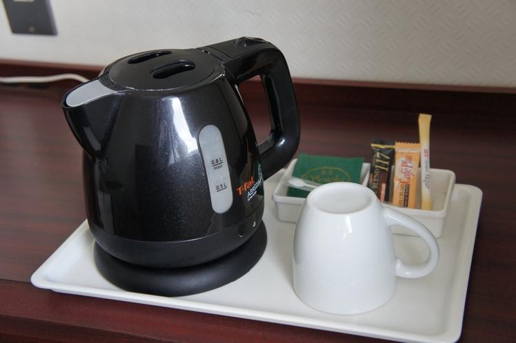 サービスコーヒー・お茶セット