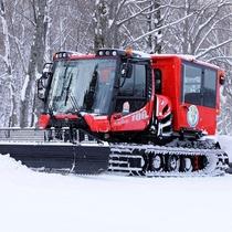 雪上車で行く絆の森パノラマツアー